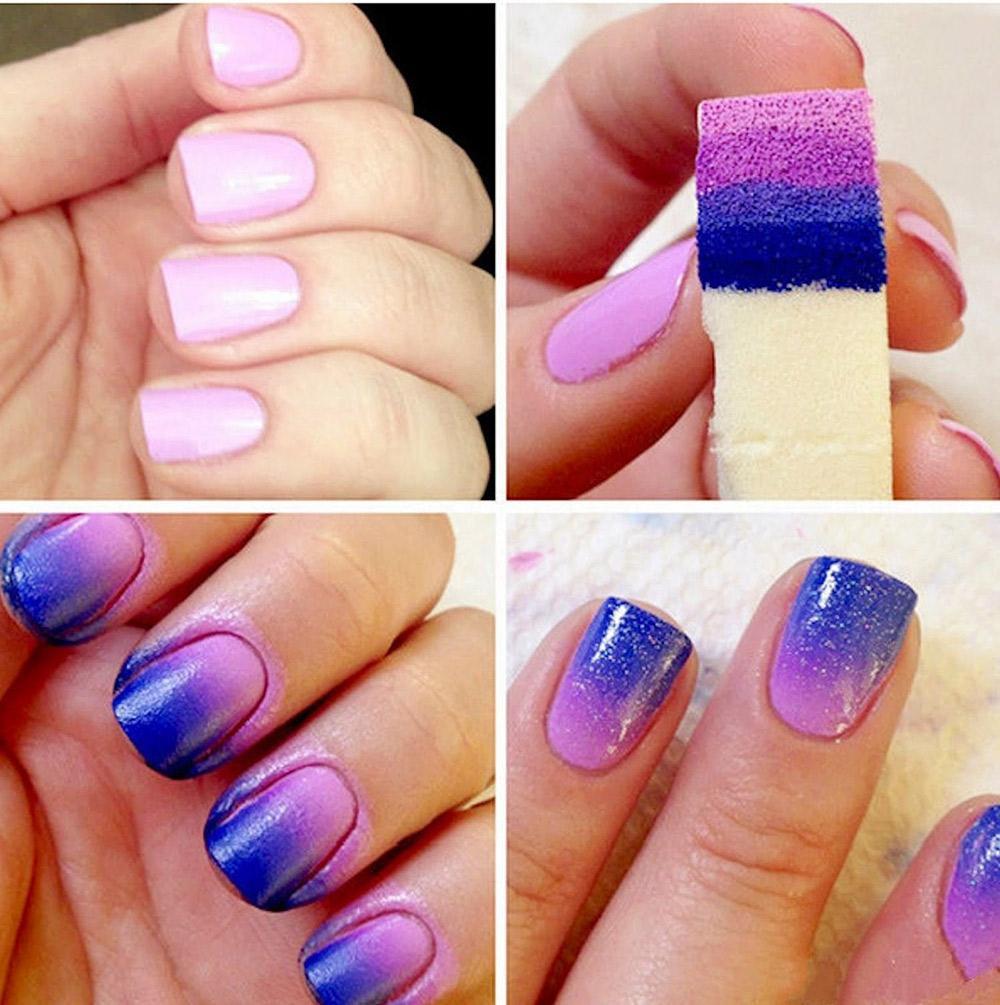 Cách tạo những mẫu nail đa sắc