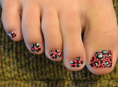 Cách vẽ móng chân đẹp - chất