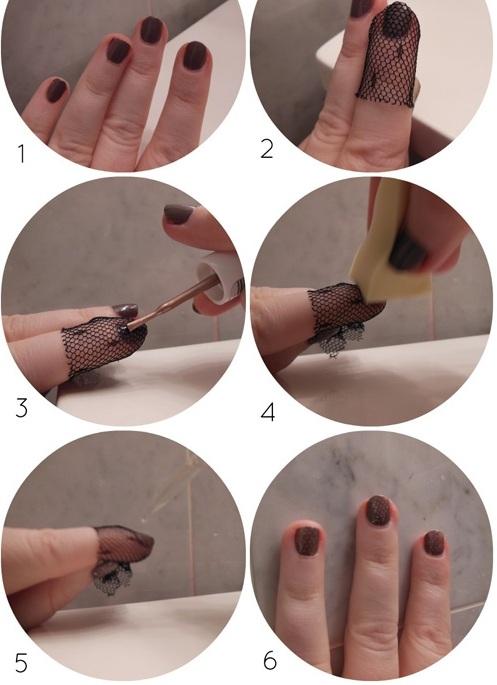 cách vẽ móng tay đẹp bằng vật dụng tại nhà