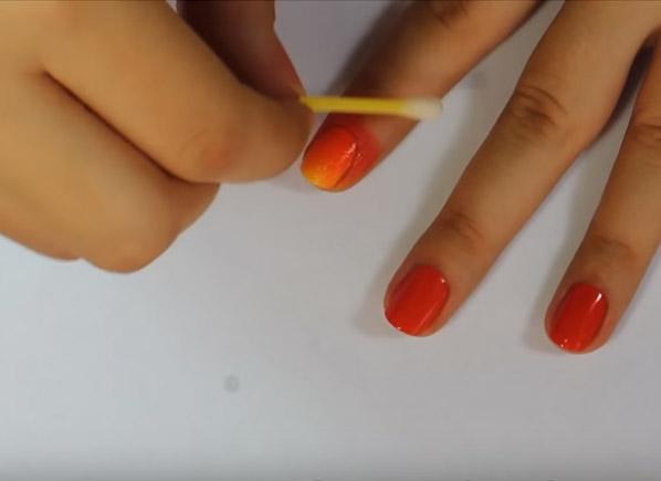 học vẽ móng hình lá