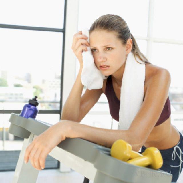 thói quen tập gym làm da xấu đi