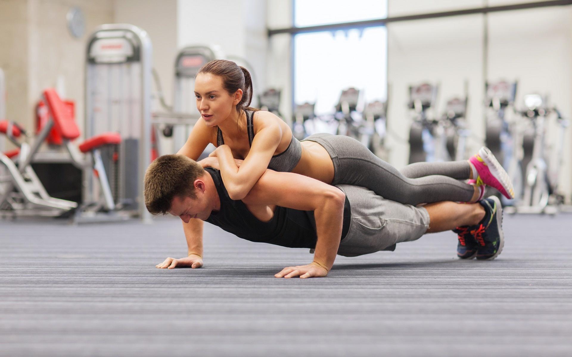 tập gym đôi tăng hiệu quả tập luyện