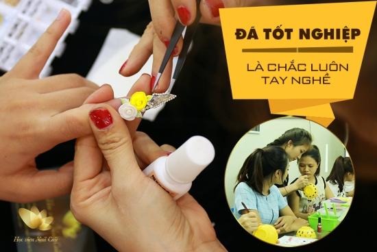Nail Cali dạy nail đẳng cấp
