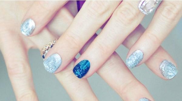 nhũng kiểu nail đẹp ấn tượng