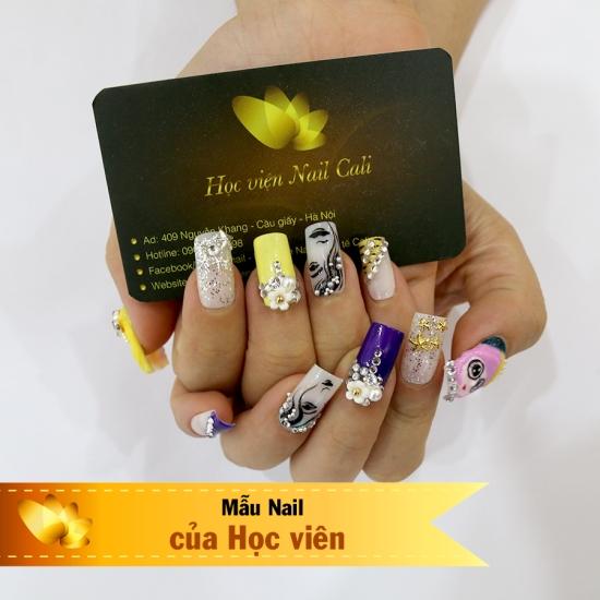 phương pháp dạy nail cầm tay chỉ việc