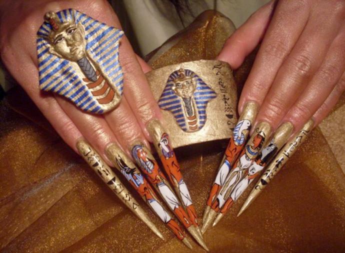 top mẫu móng tay ấn tượng từ cuộc thi Nailympia 2