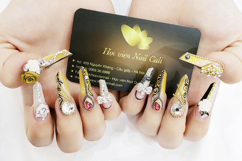 mẫu nail đẹp 8