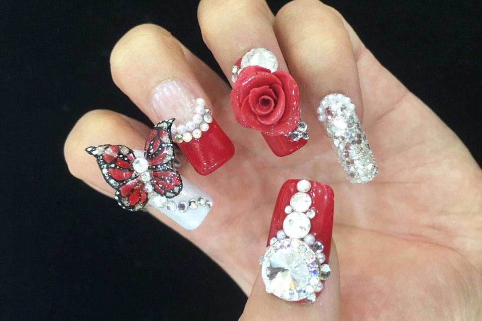 mẫu nail đẹp 5