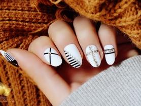 4 Mẫu móng tay đẹp cho cô nàng cá tính