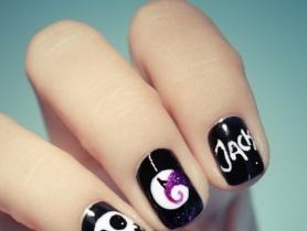 Gợi ý mẫu nail đẹp ma mị cho mùa Halloween