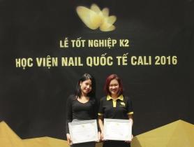 Lễ tốt nghiệp khóa học nail chuyên nghiệp: Kết thúc để bắt đầu