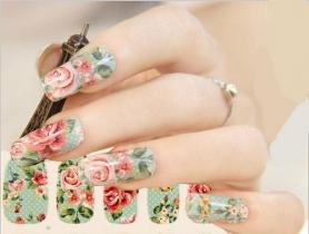 Tuyển tập mẫu nail đẹp theo phong cách vintage