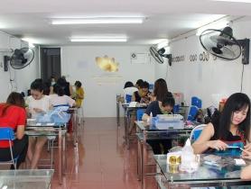 Đẳng cấp của trung tâm dạy nail Nail Cali chính là sự chuyên nghiệp