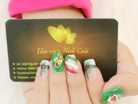 Bộ sưu tập nail giáng sinh đẹp nức lòng của Nail Cali