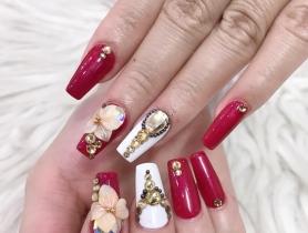 Khóa nail chuyên nghiệp ứng dụng salon